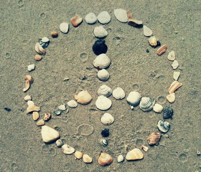 Shells gather for peace